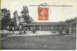 Fabrique De Produits Réfractaires Chez Poirier Près CHAZELLES (Charente) - France
