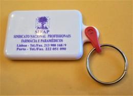 SHOPPING CART TOKEN / JETON DE CADDIE - SIFAP - SINDICATO NACIONAL PROFISSIONAIS FARMÁCIA E PARAMÉDICOS / PORTUGAL / 01 - Trolley Token/Shopping Trolley Chip