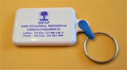 SHOPPING CART TOKEN / JETON DE CADDIE - SIFAP - SINDICATO NACIONAL PROFISSIONAIS FARMÁCIA E PARAMÉDICOS / PORTUGAL / 02 - Trolley Token/Shopping Trolley Chip