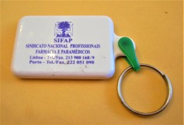 SHOPPING CART TOKEN / JETON DE CADDIE - SIFAP - SINDICATO NACIONAL PROFISSIONAIS FARMÁCIA E PARAMÉDICOS / PORTUGAL / 03 - Trolley Token/Shopping Trolley Chip
