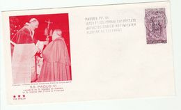 1966 PAPAL CHRISTMAS MASS Firenze EVENT COVER Stamps VATICAN Religion - Christmas