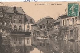 Gironde : CARIGNAN :le Canal Du Moulin - France