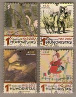 Portugal Stamps - Humorists 1912-2012 - Used - 1910 - ... Repubblica
