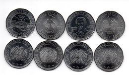 Bolivia - Set 4 Coins 2 Bolivanos 2017 UNC Lemberg-Zp - Bolivia