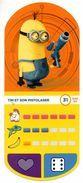 IM231 : Auchan Moche Méchant Carte N°31 TIM Pistolaser - Trading Cards