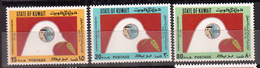 Kuwait -- SG# 1018-1020 -- 1983 -- Intl. Palestinian Solidarity Day  -- MNH Complete Set CV 5.45£ - Stamps