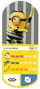 IM234 :  Auchan Moche Méchant Carte N°34 Style Minion - Trading Cards