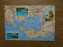 Le Golfe Du Morbihan , La Tour Du Connétable à Vannes , L'île Aux Moines , Port Navalo - Autres Communes
