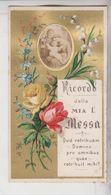 Santino Ricordo 1° Messa 1885 Alphonsus Carinci Romanus 1885 - Imágenes Religiosas