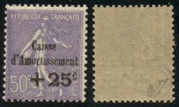 France N° 276 Neuf ** (MNH) Signé Calves - Cote 300 Euros - TTB Qualité - France