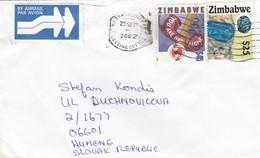 COVER ZIMBAWE TO SLOVAQUIE  / 3 - Zimbabwe (1980-...)