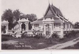 Post Card : Phnom Penh  (Cambodge)  Pagode De Bassey      Ed SEK N° 10 - Cambodge