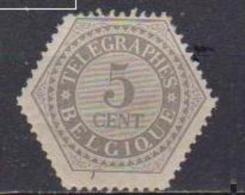 BELGIO FRANCOBOLLI TELEGRAFO 1879-93 CIFRA UNIF. 8 MLH XF - Telegrafo