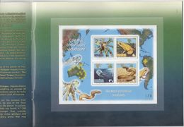 ROMANIA, 2017, MNH, POISONOUS CREATURES, FROGS, SNAKES, OCTOPUS, JELLYFISH, SPECIAL SS IN FOLDER, ONLY 252 PRODUCED! - Snakes