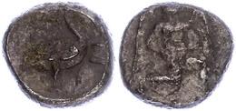 8 Mallos, Stater (10,35g), Ca. 425-385 V. Chr., Av: Kniende, Geflügelte Männliche Gestalt Mit Sonnenscheibe Nach Rechts, - Antique