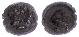 11 Mallos, Obol (0,73g), Ca. 385-333 V. Chr., Av: Herakleskopf Mit Löwenhaube Nach Links. Rev: Schwan Nach Links, Im Abs - Antique