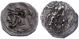 12 Obol (0,85g), 379-374 V. Chr., Pharnabazos. Av: Thronender Baal Nach Links. Rev: Bärtige Soldatenbüste Mit Attischem  - Antique