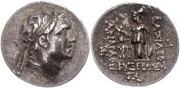 14 Drachme (4,15g), 220-163 V. Chr., Ariarathes IV. Eusebes. Av: Kopf Nach Rechts. Rev: Athena Mit Speer Und Schild Nach - Antique