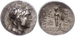 15 Drachme (4,19g), 220-163 V. Chr., Ariarathes IX. Eusebes. Av: Kopf Nach Rechts. Rev: Athena Mit Schild Und Speer Nach - Antique