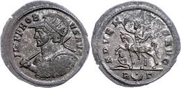 """34 Probus, 276-282, Antoninian (3,53g), Rom. Av: Gepanzerte Büste Mit Schild Und Speer Nach Links, Darum """"IMP PROB VS AV - Roman"""