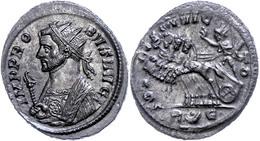 "35 Probus, 276-282, Antoninian (3,97g), Rom. Av: Gepanzerte Büste Mit Zepter Nach Links, Darum ""IMP PRO - BVS AVG"". Rev: - Roman"