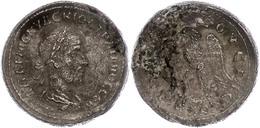 44 Syrien, Antiochia, Tetradrachme (13,07g), Trajanus Decius, 249-250. Av: Büste Nach Rechts, Darum Umschrift. Rev: Steh - Roman