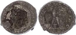 45 Syrien, Antiochia, Tetradrachme (13,37g), Trebonianus Gallus, 251-256. Av: Büste Nach Links, Darum Umschrift. Rev: St - Roman