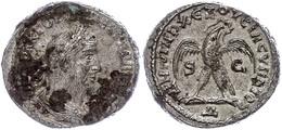 47 Syrien, Antiochia, Tetradrachme (12,33g), Trebonianus Gallus, 251-256. Av: Büste Nach Rechts, Darum Umschrift. Rev: S - Roman