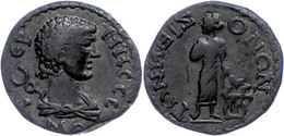 50 Pisidien, Tremessos, Æ (10,14g), 1. Jhd. Nach Chr., Pseudoautonome Prägung. Av: Hermesbüste Mit Geschultertem Kerykei - Roman
