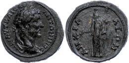 53 Thrakien, Anchialos, Æ (8,66g), Antoninus Pius, 138-161. Av: Büste Nach Rechts, Darum Umschrift. Rev: Stehende Homono - Roman