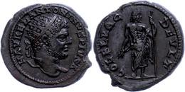 """57 Thrakien, Deultum, Æ (10,40g), Caracalla, 197-217. Av: Büste Nach Rechts, Darum """"M AVREL ANTONINVS PIVS"""". Rev: Jupite - Roman"""