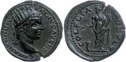 """60 Thrakien, Deultum, Æ (10,01g), Caracalla, 198-217. Av: Kopf Nach Rechts, Darum """"ANTONINVS AV-RELIVS AVG BRIT GERM"""". R - Roman"""
