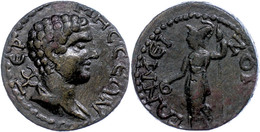 62 Pisidien, Tremessos, Æ (10,92g), 2./3. Jhd. Nach Chr., Pseudoautonome Prägung. Av: Hermesbüste Nach Rechts, Darum Ums - Roman