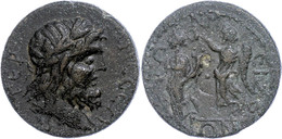 63 Pisidien, Tremessos, Æ (17,26g), 2./3. Jhd. Nach Chr., Pseudoautonome Prägung. Av: Zeuskopf Nach Rechts, Darum Umschr - Roman