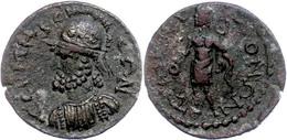 64 Pisidien, Tremessos, Æ (7,14g), 2./3. Jhd. Nach Chr., Pseudoautonome Prägung. Av: Behelmte Büste Des Solymos Nach Lin - Roman