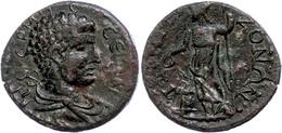 65 Pisidien, Tremessos, Æ (9,64g), 2./3. Jhd. Nach Chr., Pseudoautonome Prägung. Av: Hermesbüste Nach Rechts, Darum Umsc - Roman