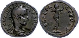 """69 Thrakien, Deultum, Æ (10,35g), Severus Alexander, 222-235. Av: Büste Nach Rechts, Darum """"IMP C M AVR SEV ALEXANDER AV - Roman"""