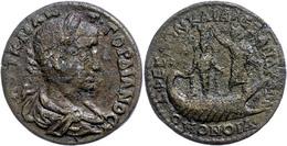 71 Ionien, Ephesos, Æ (11,39g), Gordianus III., 238-244. Av: Büste Nach Rechts, Darum Umschrift. Rev: Galeere Nach Recht - Roman
