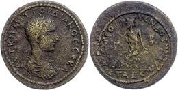 74 Kilikien, Anazarbos, Æ (20,60g), Gordianus III., 238-244. Av: Büste Nach Rechts, Darum Umschrift. Rev: Sitzende Männl - Roman