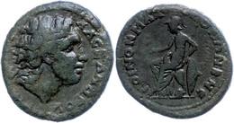 75 Koinon Der Makedonen, Beroia, Æ (12,04g), 238-244. Av: Kopf Des Alexanders Des Großen Nach Rechts, Darum Umschrift. R - Roman