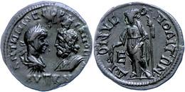 78 Moesia Inferior, Dionysopolis, Æ (10,94g), Gordianus III., 238-244. Av: Die Büsten Des Kaisers Und Des Sarapis Einand - Roman