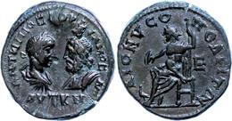 80 Moesia Inferior, Dionysopolis, Æ (12,30g), Gordianus III., 238-244. Av: Die Büsten Des Kaisers Und Des Sarapis Einand - Roman