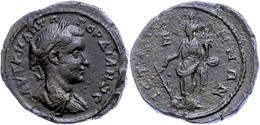 82 Moesia Inferior, Istros, Æ (19,37g), Gordianus III., 238-244. Av: Büste Nach Rechts, Darum Umschrift. Rev: Stehende T - Roman