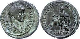 84 Moesia Inferior, Nikopolis, Æ (10,73g), Gordianus III., 238-244. Av: Büste Nach Rechts, Darum Umschrift. Rev: Thronen - Roman