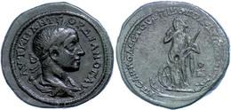 86 Moesia Inferior, Nikopolis, Æ (13,97g), Gordianus III., 238-244. Av: Büste Nach Rechts, Darum Umschrift. Rev: Stehend - Roman