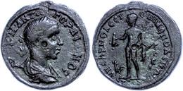 88 Moesia Inferior, Nikopolis, Æ (14,47g), Gordianus III., 238-244. Av: Büste Nach Rechts, Darum Umschrift. Rev: Stehend - Roman