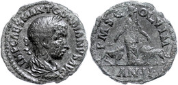 """93 Moesia Superior, Viminacium, Æ (18,28g), Gordianus III., 238-244. Av: Büste Nach Rechts, Darum """"IMP CAES M ANT GORDIA - Roman"""
