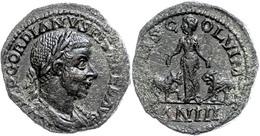 """94 Moesia Superior, Viminacium, Æ (21,54g), Gordianus III., 238-244. Av: Büste Nach Rechts, Darum """"IMP CAES M ANT GORDIA - Roman"""