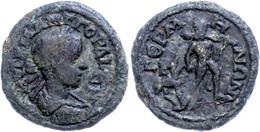 96 Mysien, Germe, Æ (4,50g), Gordianus III., 238-244. Av: Büste Nach Rechts, Darum Umschrift. Rev: Nackter Herakles Mit  - Roman