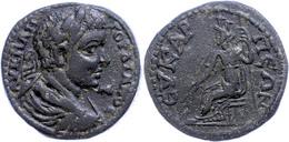 98 Phrygien, Eukarpeia, Æ (13,59g), Gordianus III., 238-244. Av: Büste Nach Rechts, Darum Umschrift. Rev: Sitzende Tyche - Roman